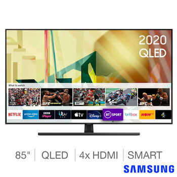 Brand New 85 inches Samsung QLED 4K Ultra HD Smart TV