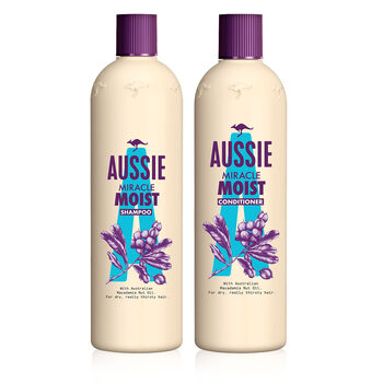 Aussie Miracle Moist Shampoo 750ml and Conditioner General