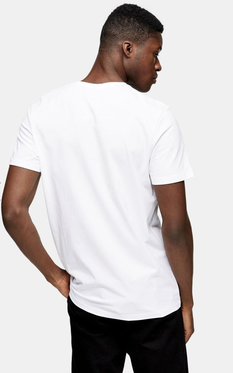 SELECTED HOMME White Embroidered Toucan T-Shirt