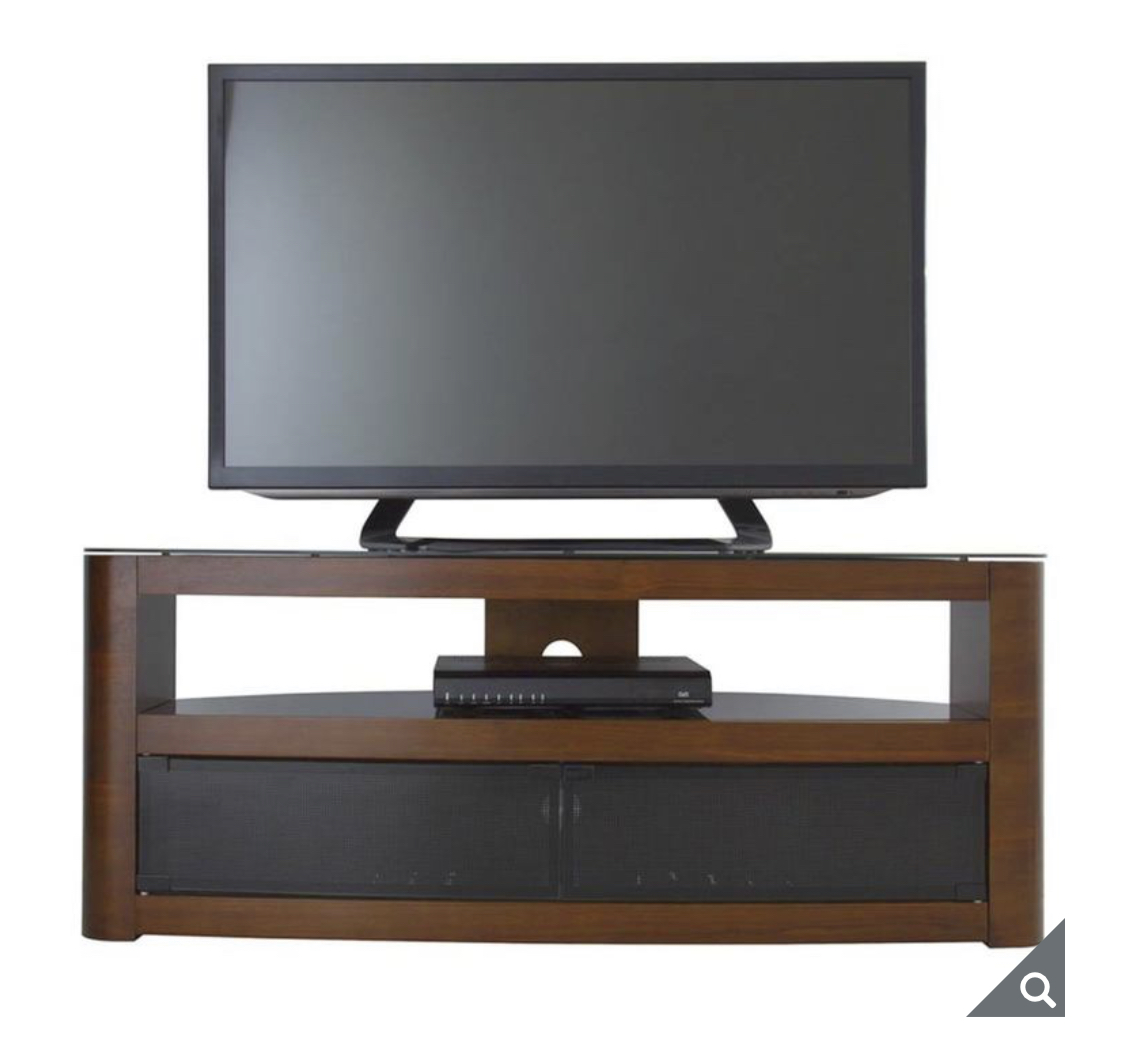 "AVF Burghley 1250 TV Stand for TVs up to 65"", in 4 Colours"