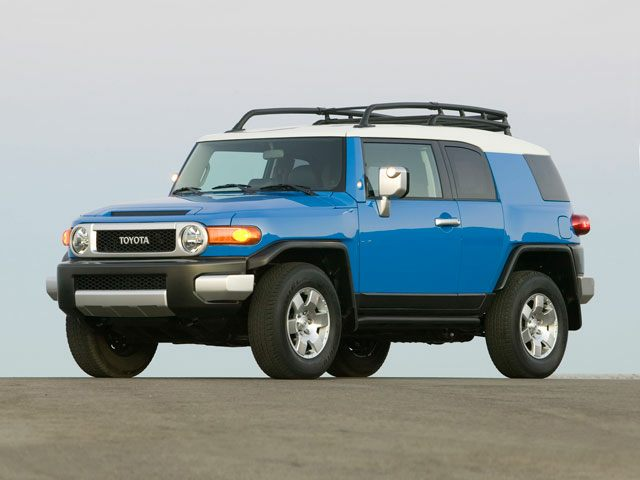 UK/Fairly Used Blue 2012 Toyota FJ Cruiser