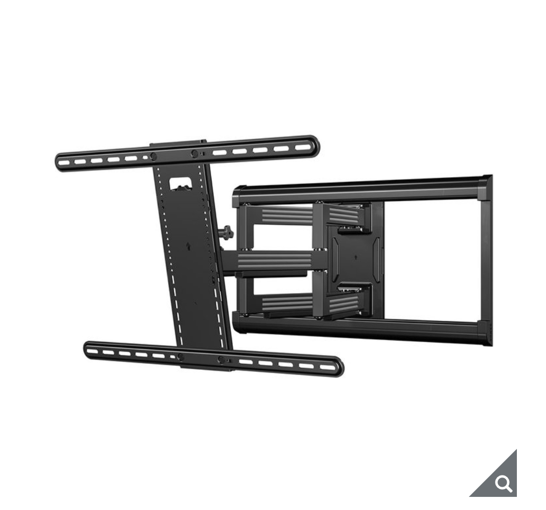 Sanus Simplicity 37-90 Inch Full Motion TV Wall Mount, SLF226